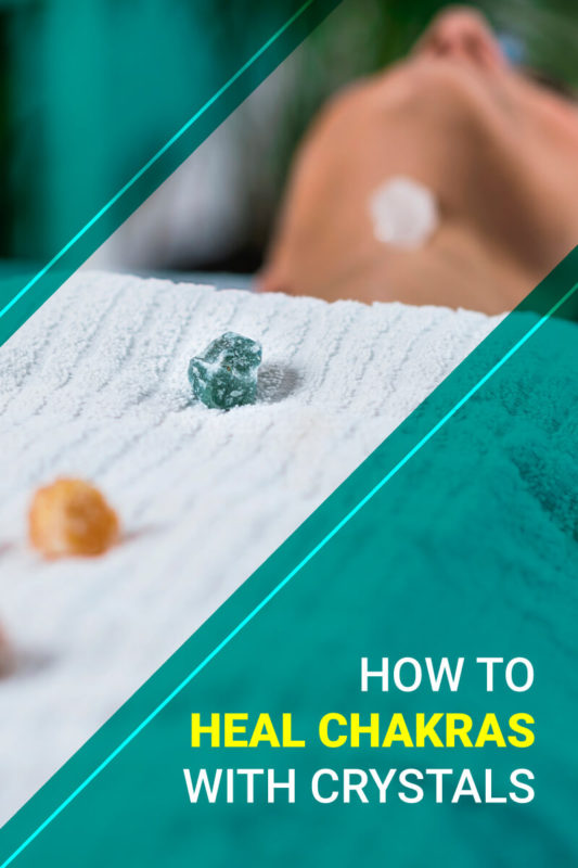 How to heal chakras with crystals
