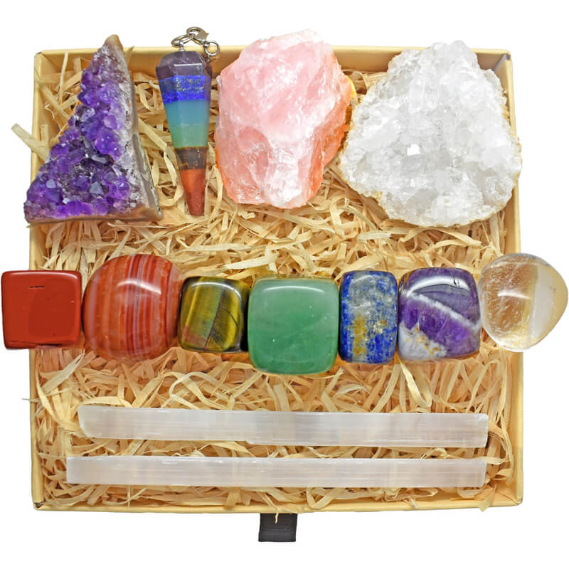 Zenluma Healing Crystal Kit   Zenluma