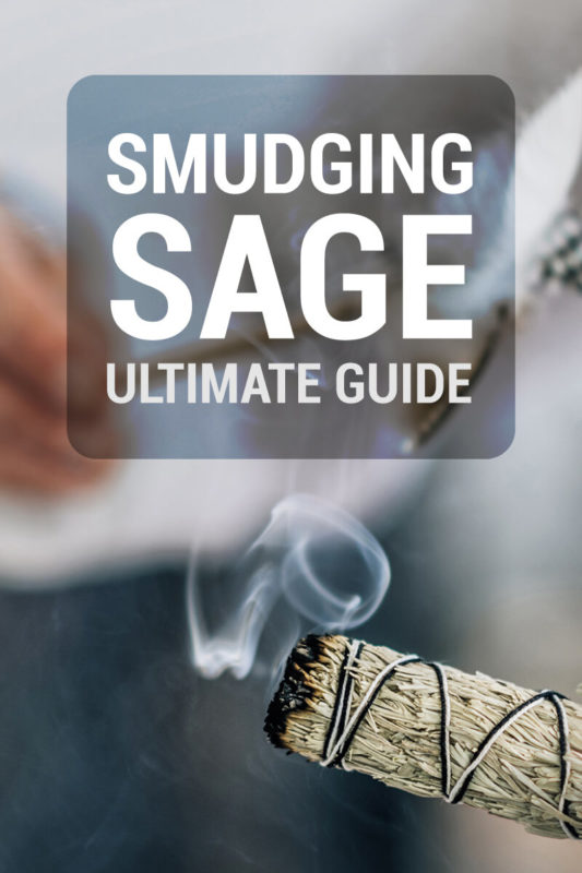 smudging sage