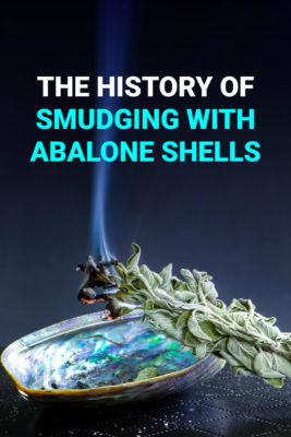 smudging with abalone shells