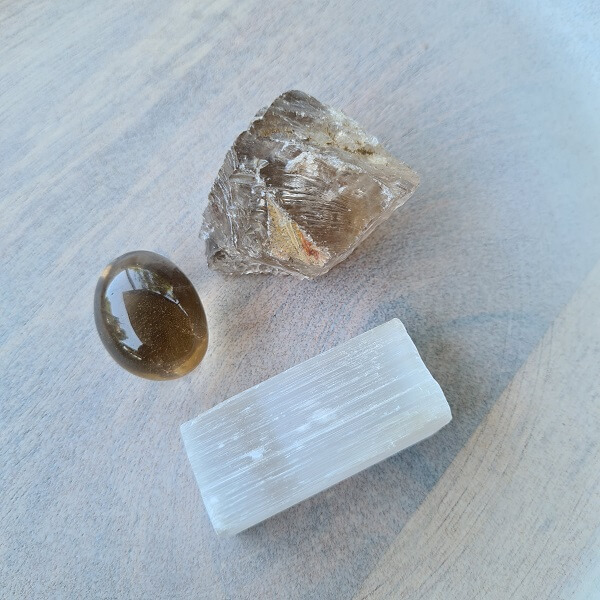 smoky quartz natural raw