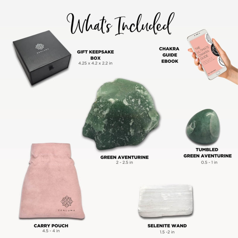 green aventurine kit whats included